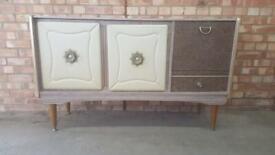 Vintage Formica sideboard rare retro drinks cabinet