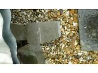 Garden edging stones