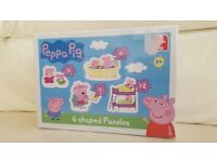 Peppa Pig 4-in-1 Shaped Puzzles