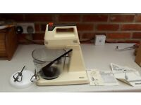 Retro / Vintage Philip Food Processor Mixer Blender