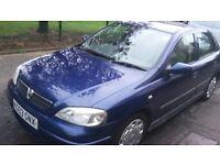 Vauxhall Astra 1.4 2003 Blue £450 ONO