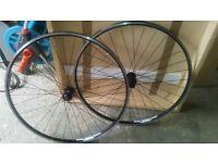 Btwin 700c cycle wheels Free!