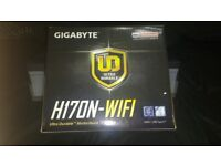 I7 6700 and Gigabyte H170N-WIFI Mini ITX Motherboard Bundle