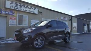 2015 Hyundai Tucson GLS-SUPER LOW KM-1 OWNER LOCAL-SUNROOF