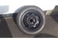 13 inch Austin Rover MG Maestro Wheel and Tyre 155/70 R13