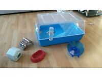 Hamster Cage and accessories - free to collect