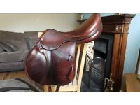 16.5inch MW Equipe Expression Monoflap Event Saddle