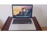 """MacBook Pro 13"""" 2015 Retina Display with 512GB Solid State Drive"""