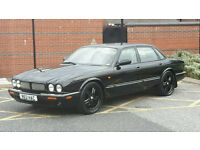 Jaguar xj8 v8 sport , only 77k miles FSH , very rare all black model full service history