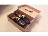 Mens cherry red Doc Marten shoes size 9