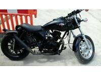 125cc custom bobber