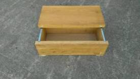 IKEA coffee table storage box