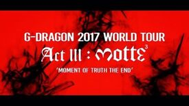 G-Dragon last concert in the UK! 24/09 Wembley- London