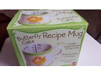 Bluw Butterfly Cake Recipe Mug Great Christmas Present Idea