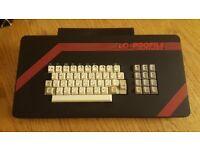 ZX Spectrum 48K + Lo-Profile Professional Keyboard Attachment. Vintage Sinclair