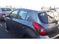 Hyundai i20 long mot very good condition. low tax and insurance.