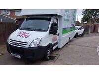 NATIONWIDE SERVICE, LUTON VAN LOADS FROM £165.00 MAN WITH VAN MOVING.