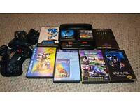 SEGA Mega Drive Console & Games
