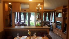 ****STUNNING 2 BED CARAVAN FOR SALE ON THE BANKS OF THE HOLY LOCH****