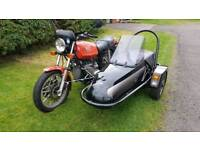 BMW r65 with Squire Sidecar