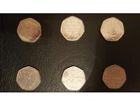 50p and £2 RARE COLLECTIVE Coins!(sold single or joblot)!