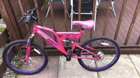 Octane mountain bike(pink)