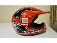 Kids moto x helmet