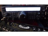 YAESU FT 847 HF UHF VHF 70MHZ AND 27MHZ ALL MODES AM FM SSB CW