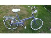 Fold up bike Raleigh stowaway