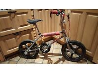 Raleigh bmx mini burner