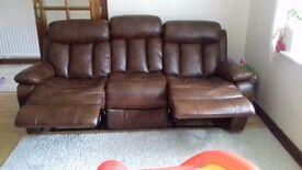 Sofa and 2 armchairs