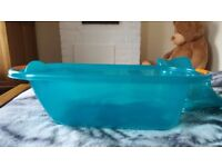 Aqva baby bath with top and tail bowl.Bargain price.