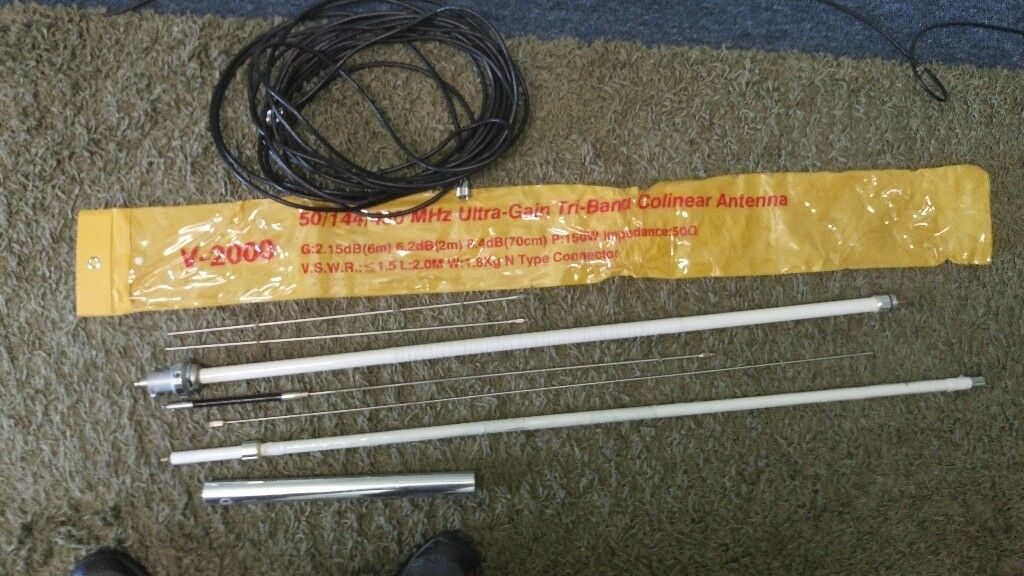 Tri-Band Antenna V2000 plus cable | in Solihull, West Midlands | Gumtree