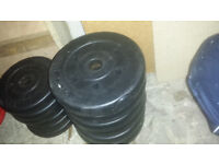 Loose weights for dumbells or bars