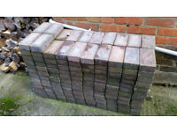 Standard red block pavers x 250