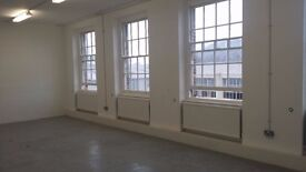 Various sized workunits/offices to let in a converted warehouse building in woolwich