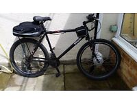 BTWIN Electric mountain bike , with 36v Li-Ion battery and charger