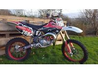 Honda cr 85 big wheel loads of upgrade