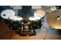 Drum Kit With Cymbals - Ideal First Kit!