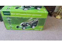 Gardenline 46cm self propelled lawnmower