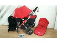 Bugaboo Cameleon 3 Carry Cot and Pushchair with Extras included
