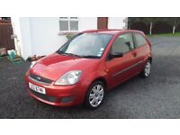 Ford Fiesta Style Red 2007