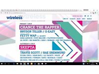 Wireless Festival 3 Day Ticket 7th July - 9th July