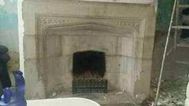 Quick sale stone fireplace