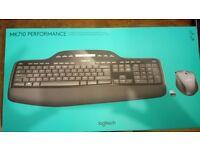 MK710 PERFORMANCE Logitech wireless keyboard and mouse combo