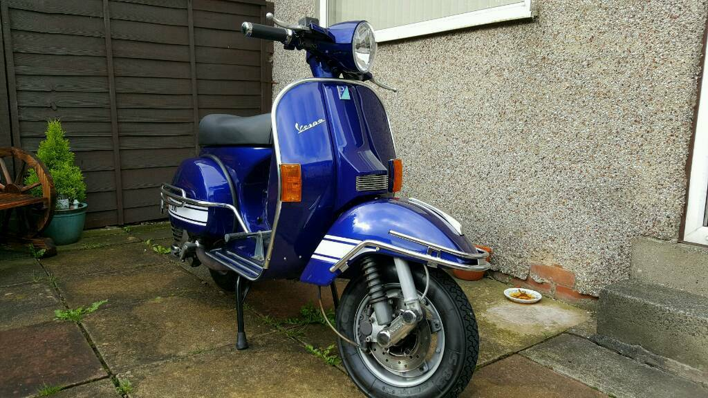 vespa px 200 for sale in bradford west yorkshire gumtree. Black Bedroom Furniture Sets. Home Design Ideas