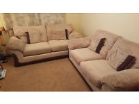 3 Seater Sofa, Sofa Bed and Foot Pouffe... Only 3 Years Old