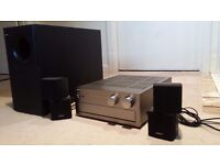 Bose Acoustimass 5 Series 3 Speaker with Yamaha Receiver/Amplifier in good working order