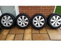"""Ford 16"""" Alloys + Michelin Winter Tyres"""