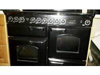 Rangemaster Classic 110 electric ovens ceramic hob